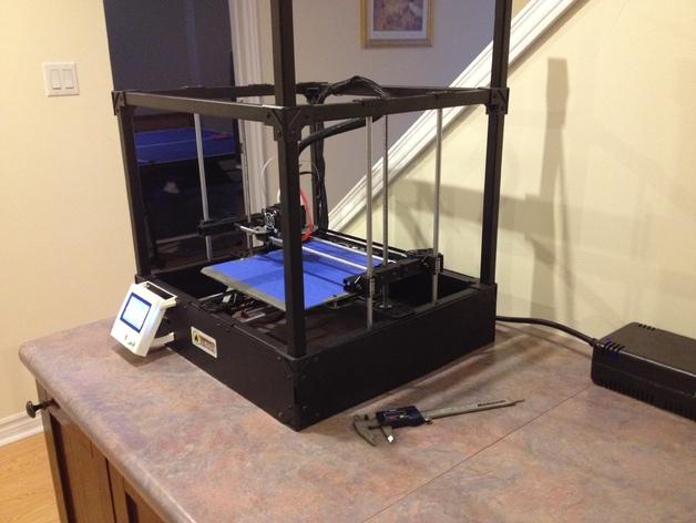 Rigidbot打印机智能控制器盒子