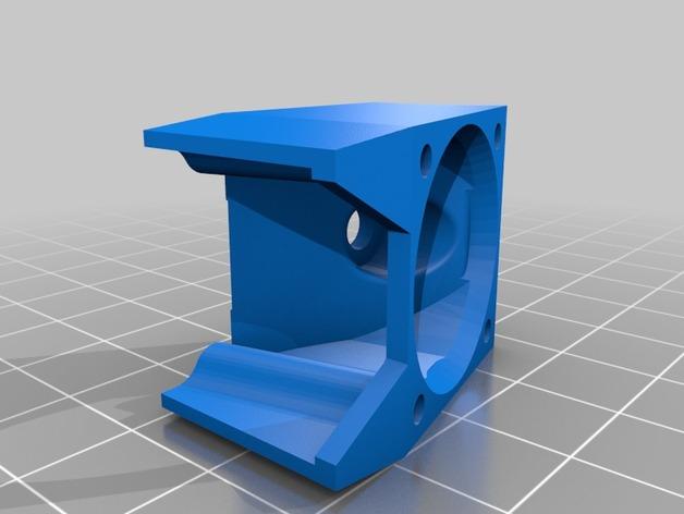 六边形锡槽热端风扇座
