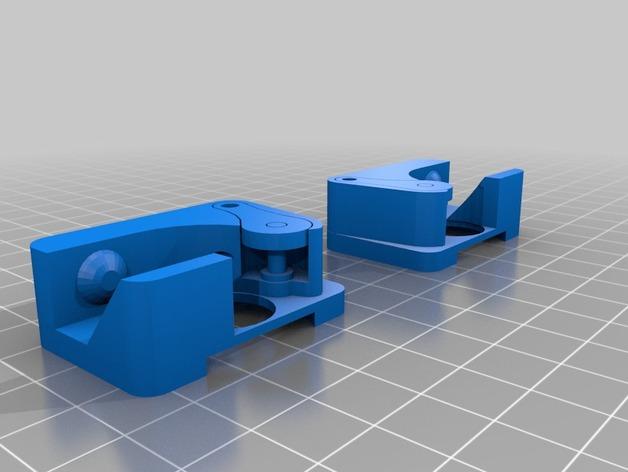 Replicator双重挤出机 3D打印模型渲染图