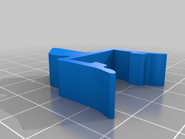 打印机材料夹  电缆夹