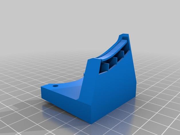 打印机风扇架