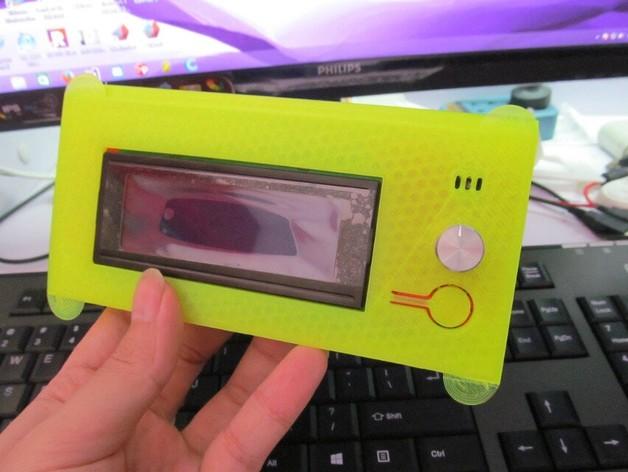 Kossel 800打印机显示屏外框