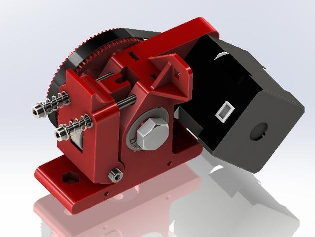 Itty Bitty  3D打印模型渲染图