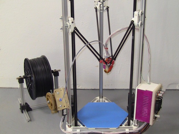 Kossel Mini 3D打印机部件