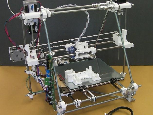 自制打印机 3D打印模型渲染图