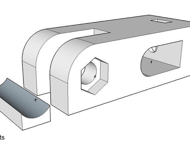 打印机Y轴张紧器
