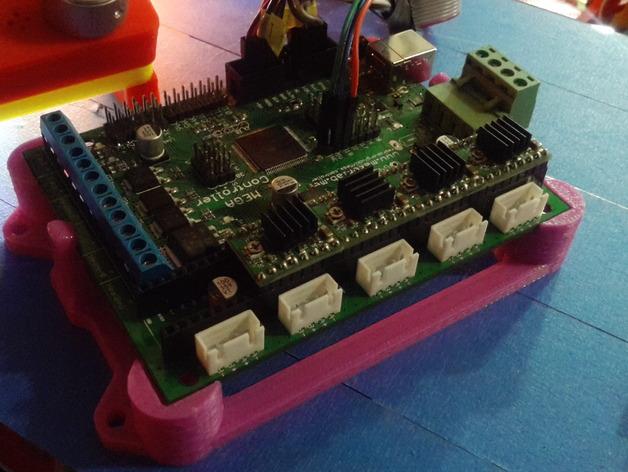 MegaController 主控板外框 3D打印模型渲染图