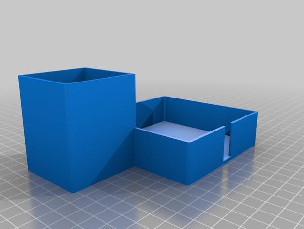 写字台办公文具盒
