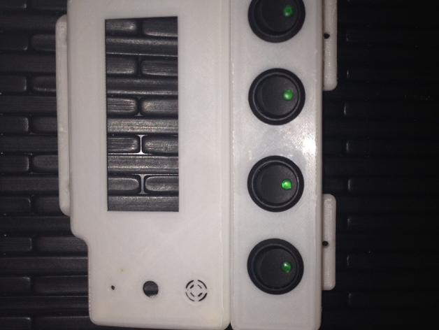 智能控制器显示屏保护壳