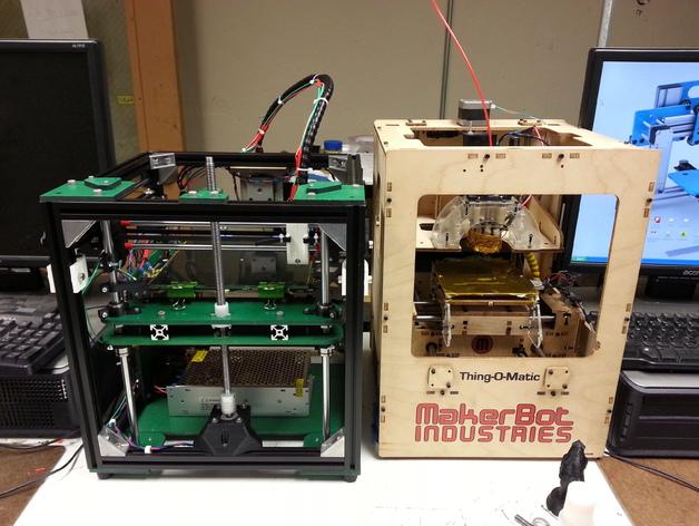 Griffinbot 3D打印机 3D打印模型渲染图