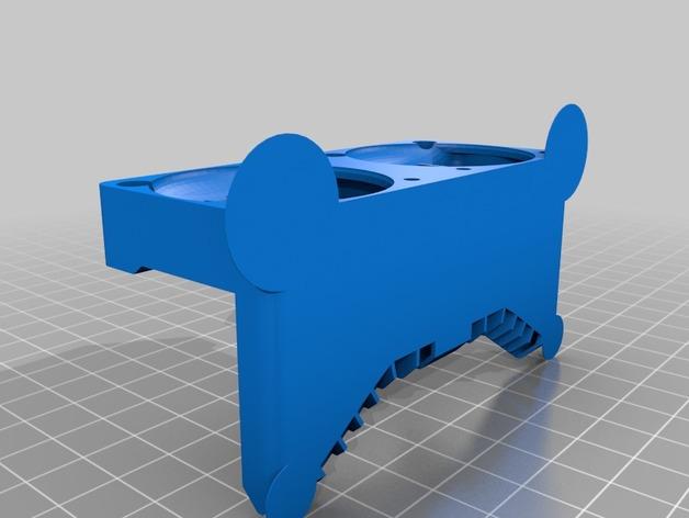 Makerbot Replicator 2x 打印机风扇