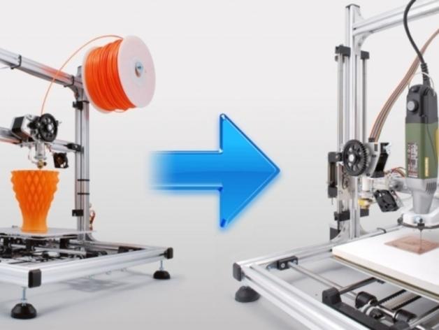 打印机工具架 3D打印模型渲染图