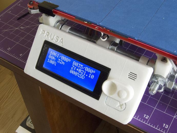 Prusa i3打印机控制器显示屏支架