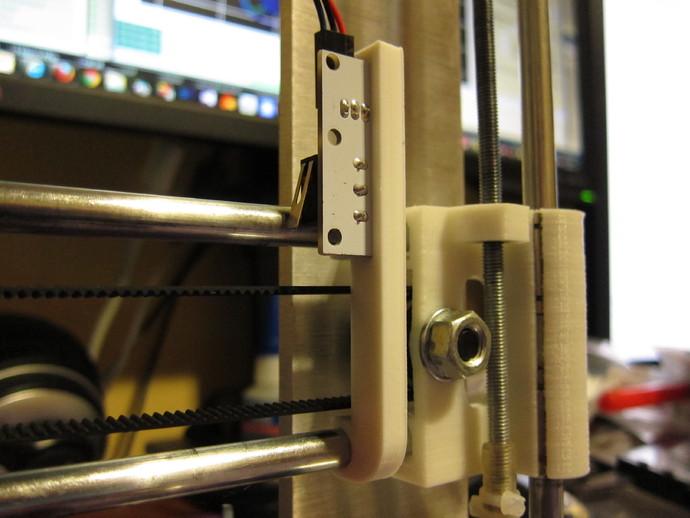 打印机X轴限位开关夹