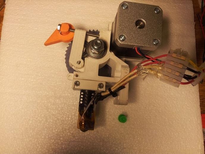 Prusa i3部件 3D打印模型渲染图