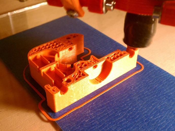 Kossel打印机的挤出机