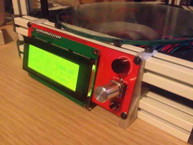 Kossel Mini打印机显示屏支架