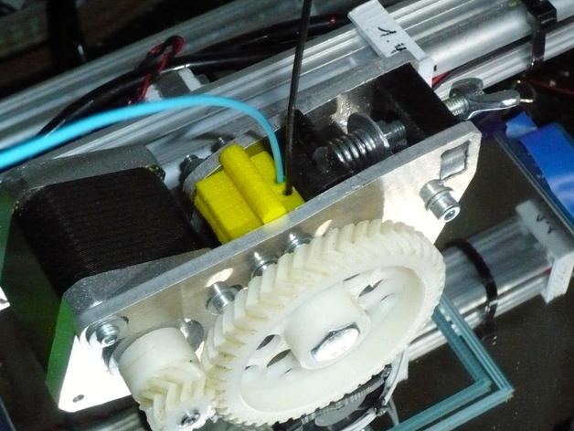 双孔导线器 3D打印模型渲染图