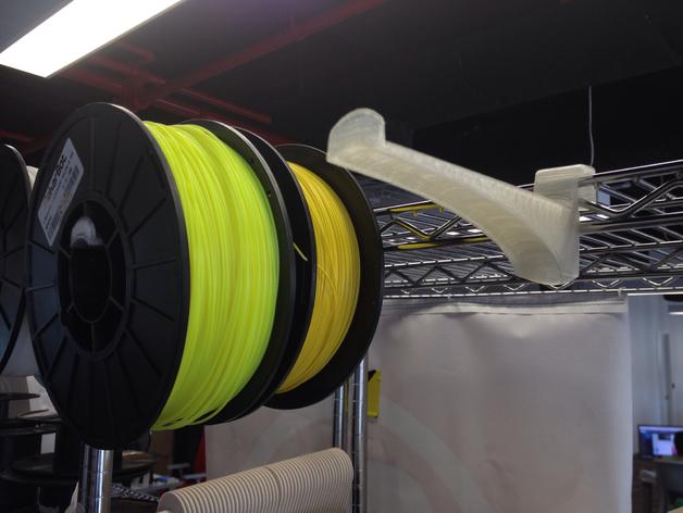 线轴卷支架 3D打印模型渲染图