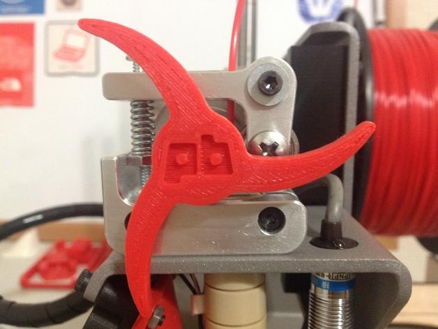 Printrbot 打印机进料轮