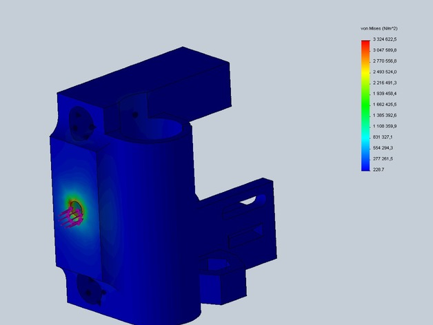 Prusa i3打印机X轴惰轮