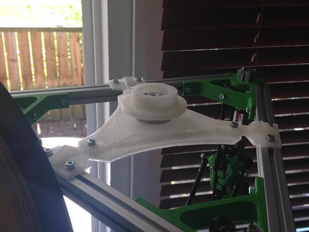 Kossel打印机顶部线轴架