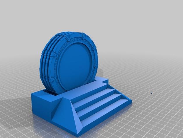 星际之门模型 3D打印模型渲染图