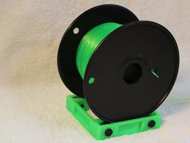 3D打印线材架 线轴架 3D打印模型渲染图