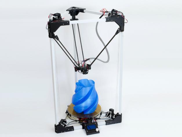BI V2.0 3D打印机 3D打印模型渲染图