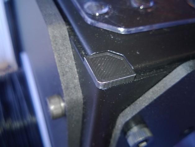 Replicator 2 / 2X打印机边角保护器 3D打印模型渲染图