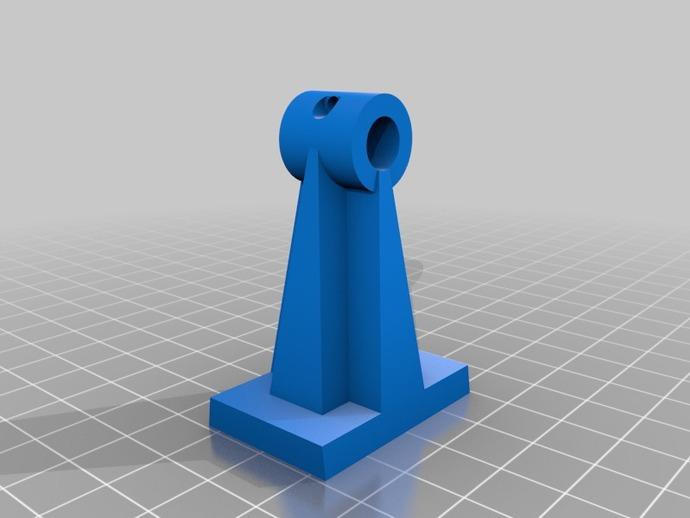 Robo3d打印机Z轴固定器 3D打印模型渲染图