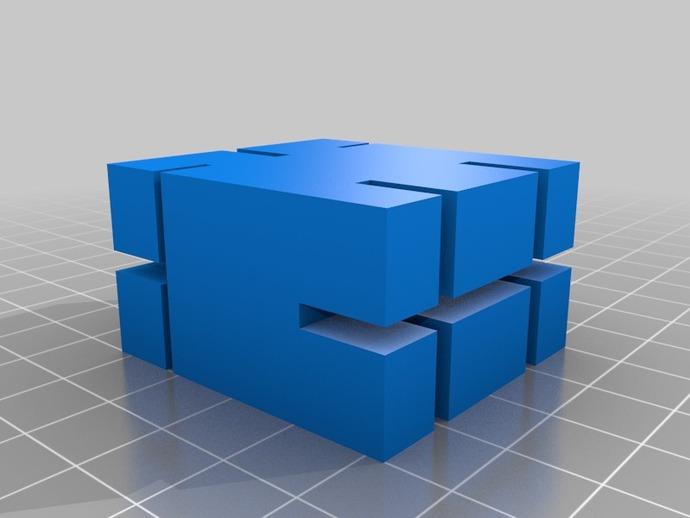 PLA材料打印测设
