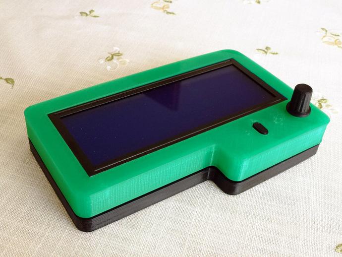 智能控制器保护盒 3D打印模型渲染图