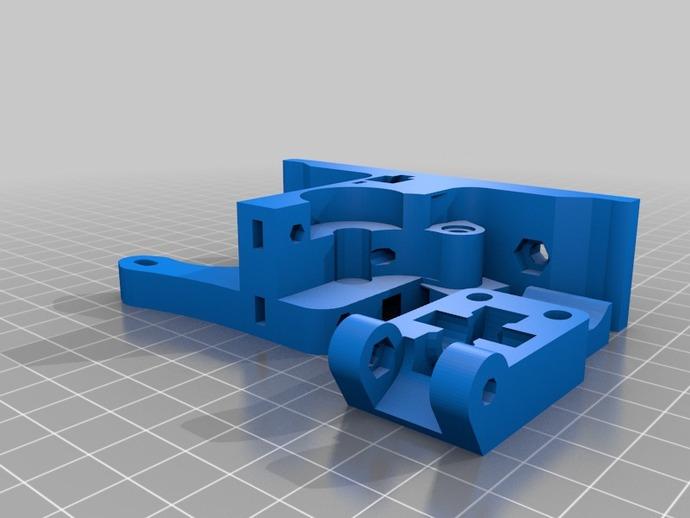 打印机X轴 挤出机