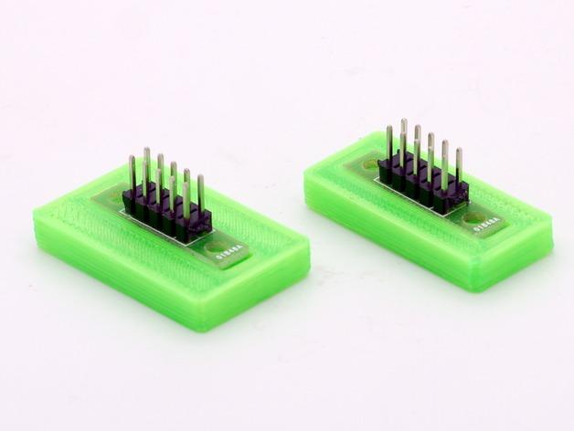 Mini Kossel打印机电路板保护座 3D打印模型渲染图