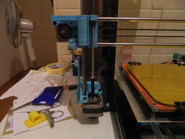 打印机Z轴联轴器 3D打印模型渲染图