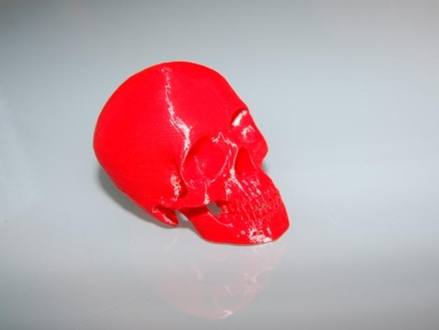 头骨模型 3D打印模型渲染图