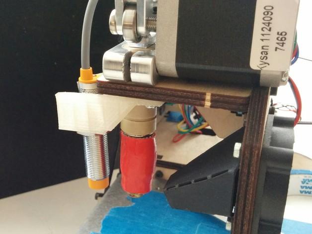 PrintrBot 打印机自动调平探针 3D打印模型渲染图