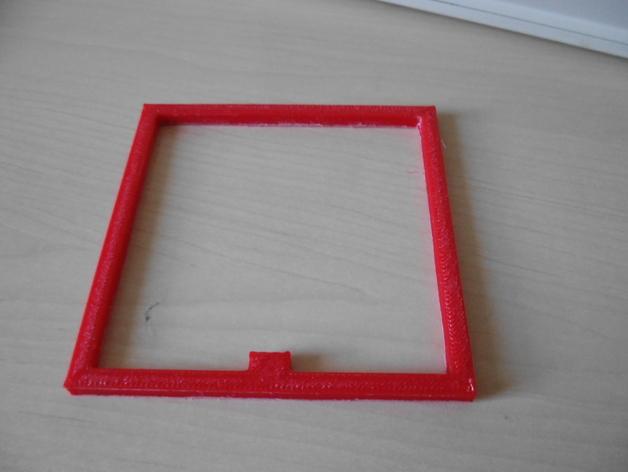 校正框 校正器 3D打印模型渲染图