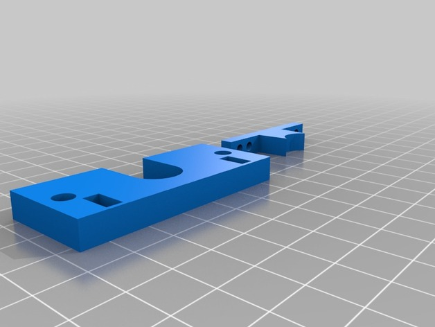 Makerfarm i3打印机固定板