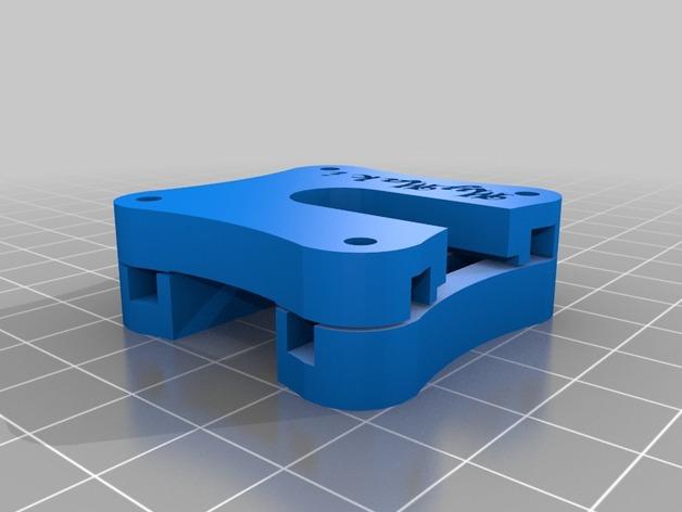Makibox打印机底座 3D打印模型渲染图