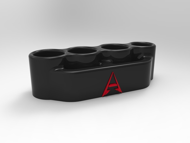 指节铜环 3D打印模型渲染图