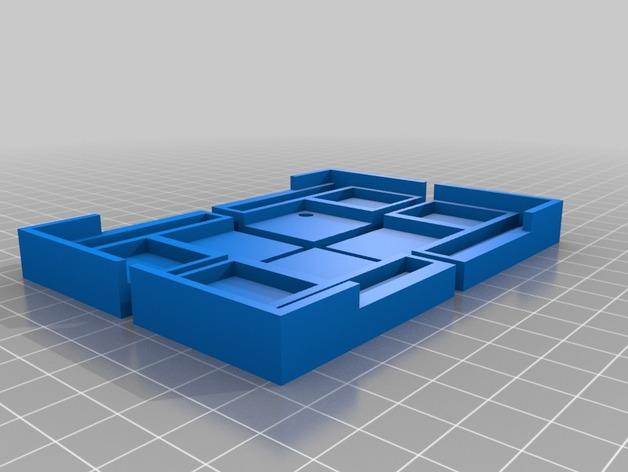 打印机打印床框架