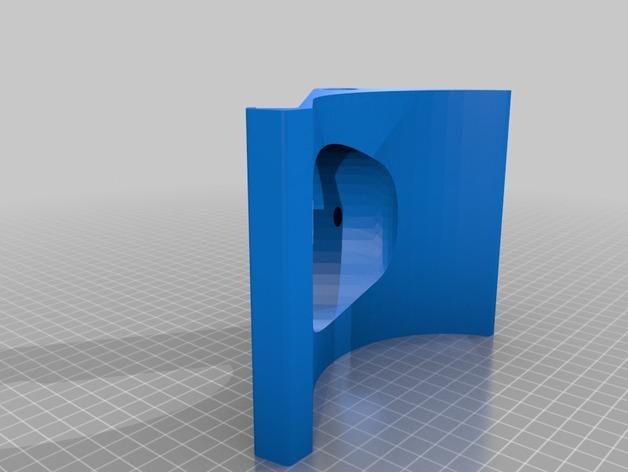 Apple Macbook pro retina 13电脑支架 3D打印模型渲染图