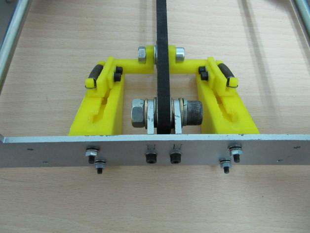 传动带张紧装置 3D打印模型渲染图