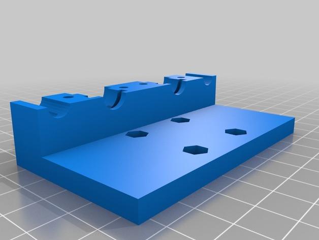 prusa i3打印机风扇座