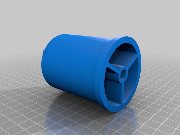 RigidBot打印机 卷线轴 3D打印模型渲染图