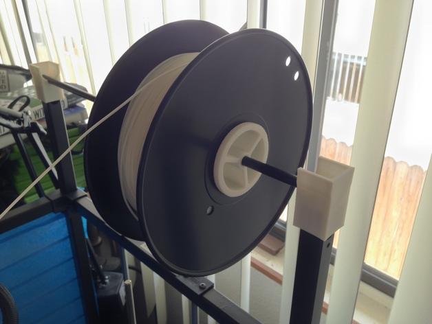 RigidBot打印机 卷线轴