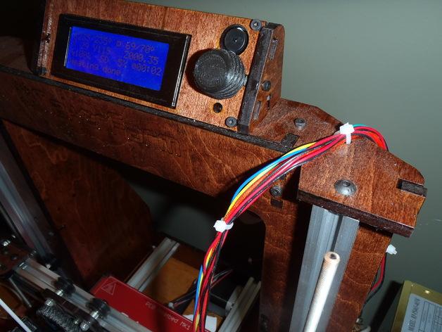 Makerfarm Prusa i3v 打印机控制器旋钮