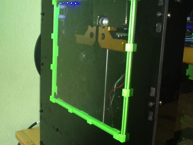 打印机玻璃框